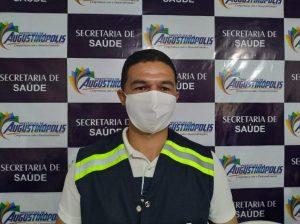 Secretário municipal de Saúde de Augustinópolis, Gedeão Filho. Foto: Paulo Palmares/VB.