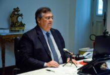 Dino destacou que é papel da União comprar e distribuir as vacinas contra a Covid-19 (Foto: Karlos Geromy)