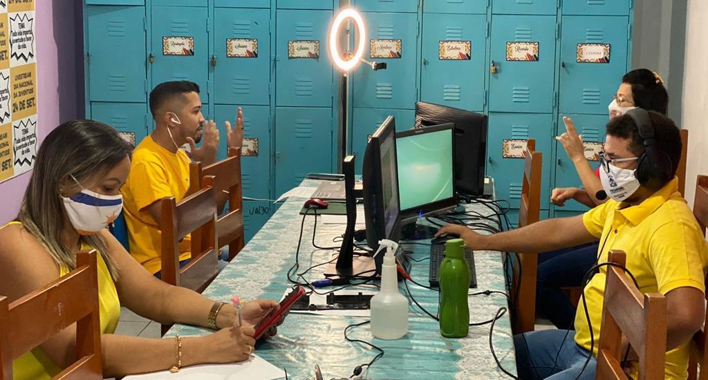 A live 'Toda vida importa, juventude a favor da vida' foi realizada pela Regional de Araguatins
